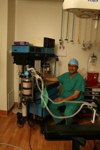 Anethesiologist, Dr. Raj Parti